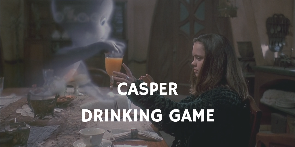 Casper Halloween Drinking Games