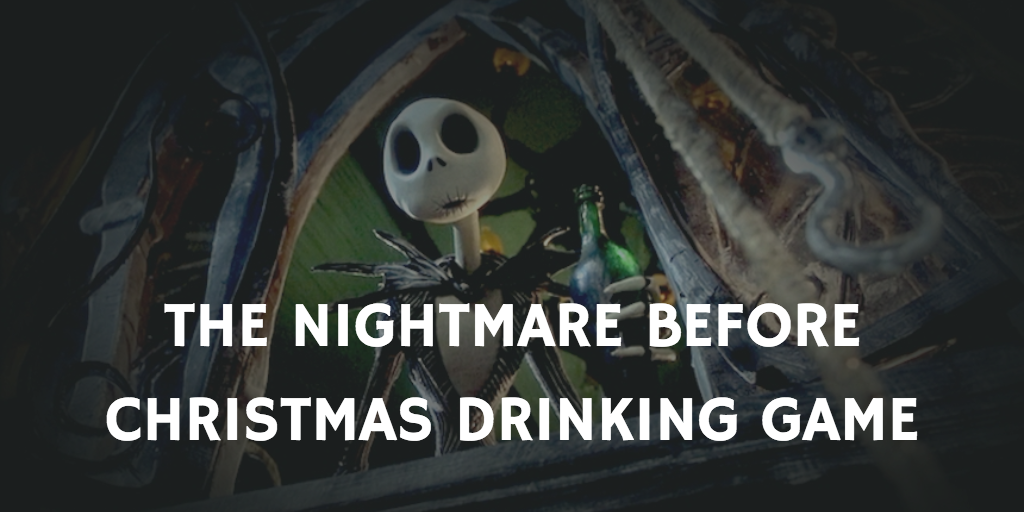 The Nightmare Before Christmas Halloween Drinking Games