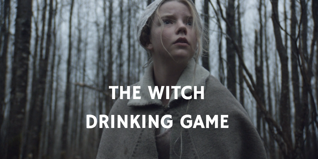 The Witch Horror Movie Drinking Games