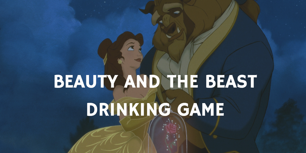 Valentine's Day Drinking Games - Beauty and the beast