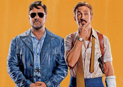 The Nice Guys (2016) Drinking Game