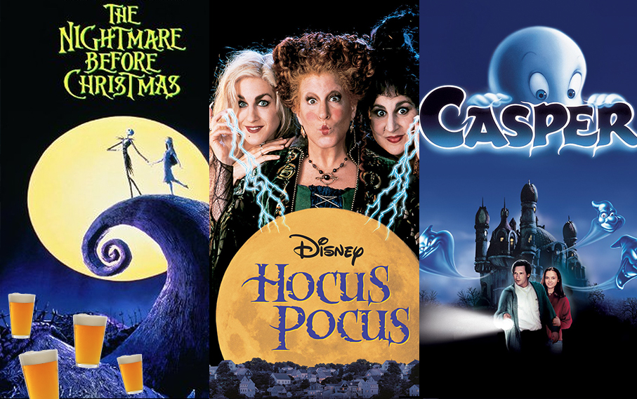 3 Halloween Drinking Games for Your Favourite 90s Films