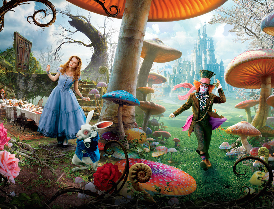alice through the looking glass 2016 drinking game