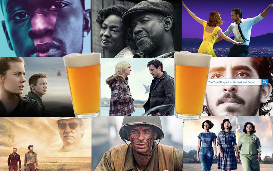 Drinking Games for 2017 Oscar Nominations