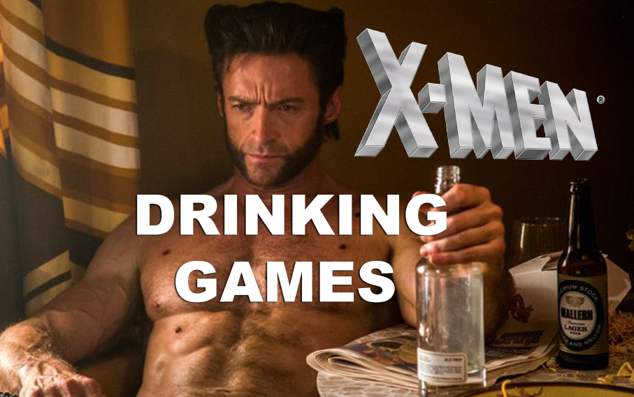 A Complete Collection of X-Men Drinking Games