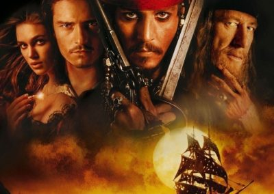 Pirates of the Caribbean: The Curse of the Black Pearl (2003) Drinking Game