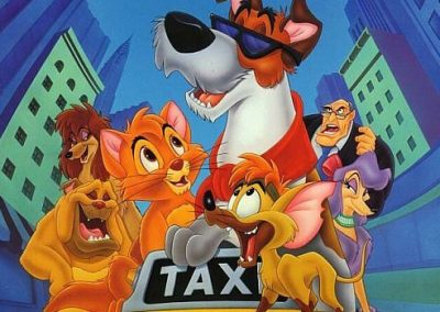 Oliver & Company (1988) Drinking Game