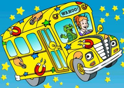 The Magic School Bus Drinking Game