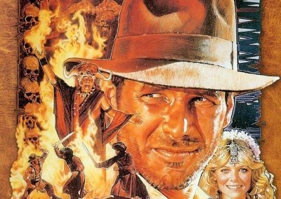 Indiana Jones and the Temple of Doom (1984) Drinking Game
