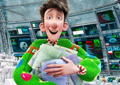 Arthur Christmas (2011) Drinking Game