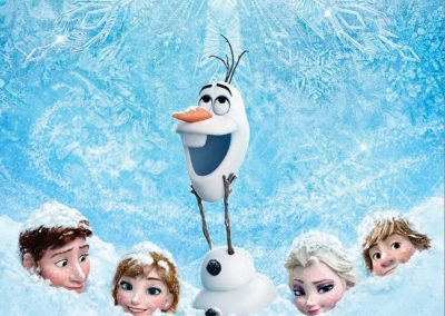 Frozen (2013) Drinking Game