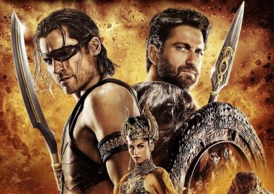 Gods of Egypt (2016) Drinking Game