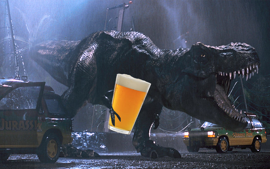 Fun Finds a Way with These Five Jurassic Park Drinking Games