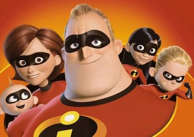 The Incredibles (2004) Drinking Game