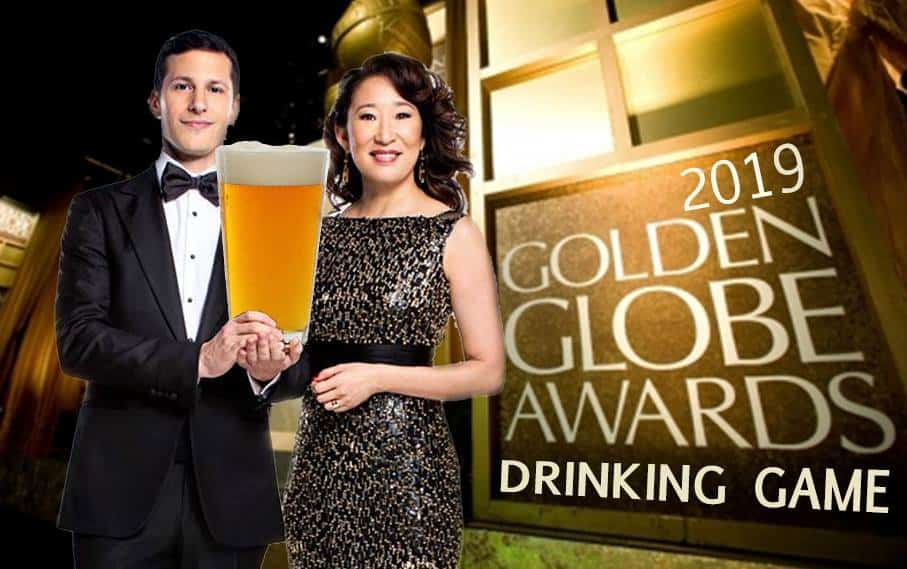 2019 Golden Globes Drinking Game
