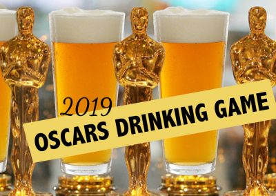 2019 Oscars Drinking Game for the 91st Academy Awards