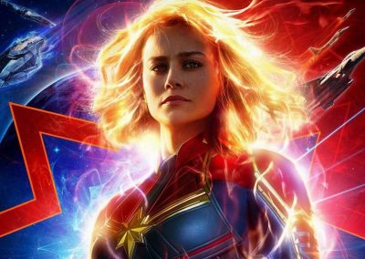 Captain Marvel (2019) Drinking Game