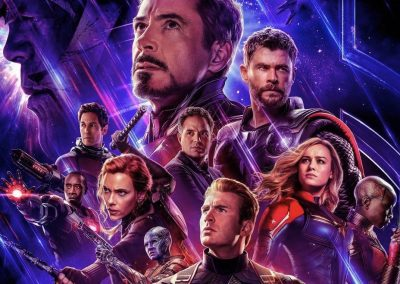 Avengers: Endgame (2019) Drinking Game