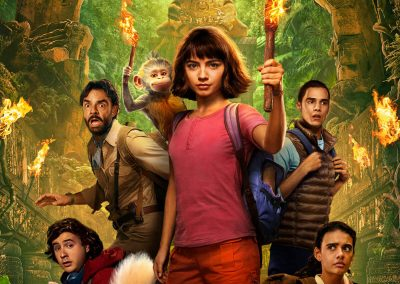 Dora and the Lost City of Gold (2019) Drinking Game