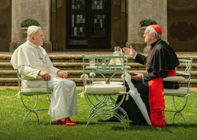 The Two Popes (2019) Drinking Game