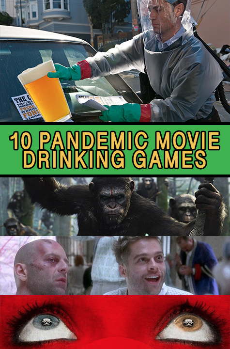 Pandemic Movie Drinking Games