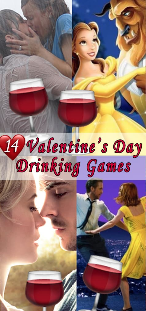 Valentine's Day Drinking Games