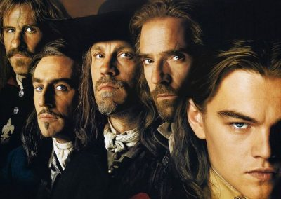 The Man in the Iron Mask (1998) Drinking Game
