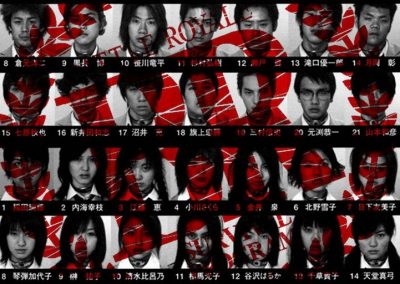 Battle Royale (2000) Drinking Game